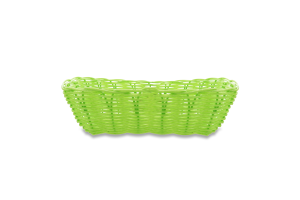 Корзина Eat&Drink плетеная зеленая D-04