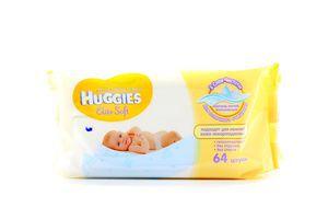 Салфетки влажные детские Elite Soft Huggies 64шт