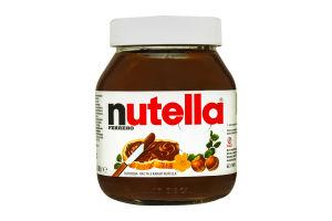 Паста ореховая с какао Nutella с/б 630г
