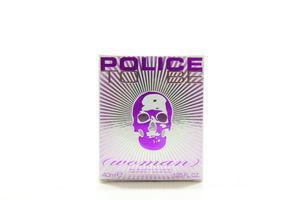 Парфюмированная вода женская To Be Woman Police 40мл