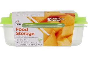 Smart Living Food Storage Medium