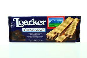Вафлі Loacker крем-какао 175г