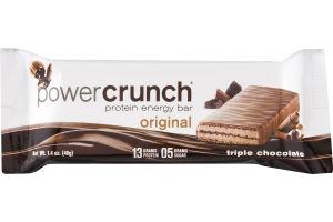 Power Crunch Protein Energy Bar Original Triple Chocolate