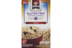 Quaker Select Starts Gluten Free Instant Oatmeal Original - 10 CT