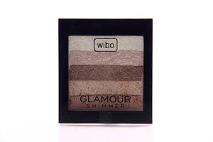 Пудра компактная Glamour Shimmer Wibo 8г