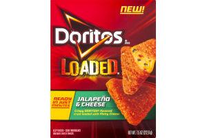 Doritos Loaded Breaded Cheese Snacks Jalapeno & Cheese