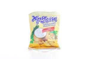 Сухарики со вкусом сметаны и лука Хруст м/у 35г