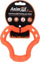 Снаряд тренировочный для собак 12см оранжевый №88202 Кольцо Fun AnimAll 1шт