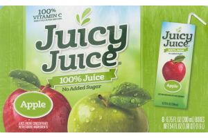 Juicy Juice 100% Juice Apple - 8 CT