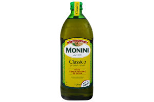 Олія оливкова Extra Virgin Monini с/пл 1л