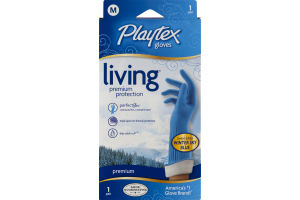 Playtex Gloves Living Premium Protection Medium