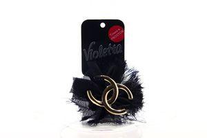 Резинка для волос №105410 Violetta 1шт