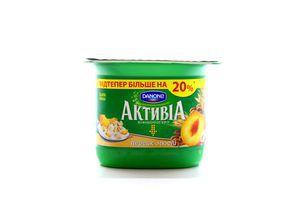 Бифидойогурт 3% Персик-мюсли Активіа ст 140г