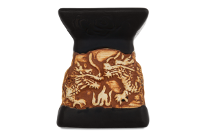 Аромалампа Ароматика Дракон черная керамика