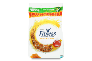 Завтрак готовый Nestle Fitness с медом и миндалем