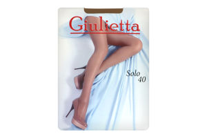 Колготи жіночі Giulietta Solo 40den 4-L glace