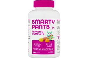 SmartyPants Women's Complete Gummy Multivitamin - 120 CT