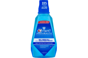 Crest Pro-Health CPC Antigingivits/Antiplaque Oral Mouthwash Multi-Protection Clean Mint