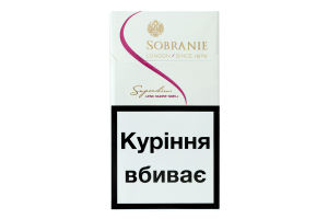 Цигарки Sobranie Superslims White