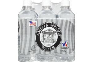 Amelia Springs Water- 6 PK