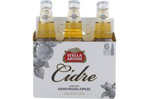 Stella Artois Cidre Premium Cider - 6 PK