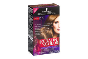 b68ccbb998 Schwarzkopf Keratin Color Permanent Anti-Age Hair Color 5.5 Cashmere Brown