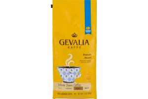 Gevalia Kaffe Whole Bean Coffee French Roast Dark