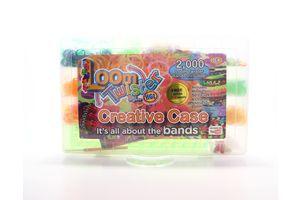 Набор для плетения цветными резинками Creative case Loom Twister 2000шт