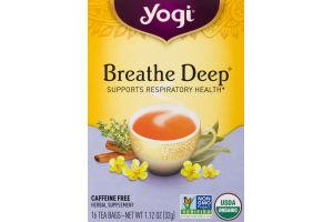 Yogi Breathe Deep Tea Bags - 16 CT
