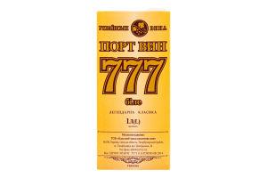 Вино 1л 14.5% біле зі смаком яблука 777 Порт Вин т/п