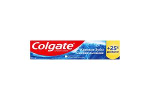 Паста зубна Міцні зуби Свіжий подих Colgate 125мл