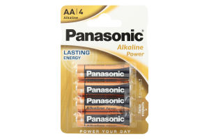 Батарейка Alkaline Power AA Panasonic 4шт