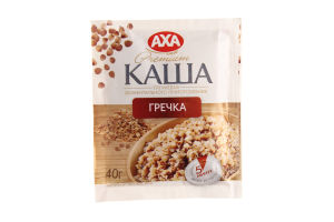 Каша гречневая Premium Axa м/у 40г