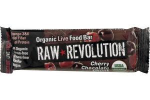 Raw Revolution Organic Live Food Bar Cherry Chocolate Chunk