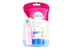 Крем для депиляции в душе для чувствительной кожи Minima Veet 150мл
