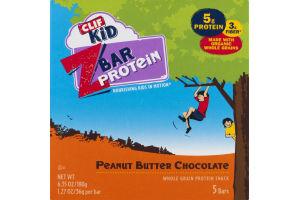 Clif Kid Z Bar Protein Peanut Butter Chocolate Bar - 5 CT