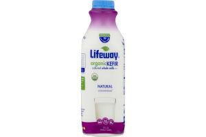 Lifeway Organic Kefir Cultured Whole Milk Natural Unsweetened