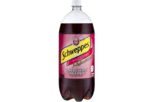 Shcweppes Ginger Ale Black Cherry