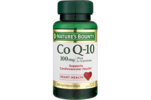 Nature's Bounty Co Q-10 100mg Dietary Supplement - 60 CT