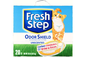 Fresh Step Ultra Unscented, Clumping Cat Litter, 20 Pounds