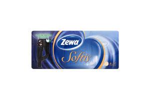Хустинки Zewa Soft 4шар 21х20,8 х10