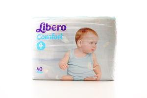 Підгузки Libero Comfort №4 7-14кг 40шт