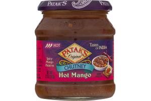 Patak's Chutney Hot Mango