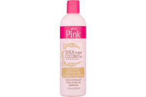 Luster's Pink Silkening Leave-In Conditioner Shea Butter Coconut Oil
