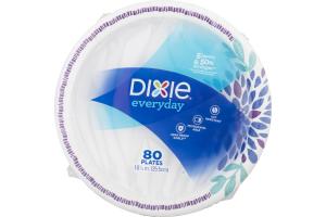 Dixie Everyday Plates - 80 CT