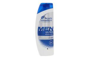 Шампунь для волосся проти лупи Миттєва допомога Ultra Men Head & Shoulders 360мл