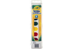 Crayola Washable Watercolors - 8 CT
