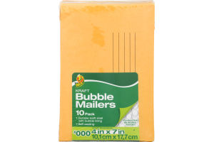 Duck Kraft Bubble Mailers #000 - 10 PK