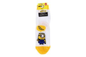 Шкарпетки жіночі Брестские Minions №20C1324 25 310 білий