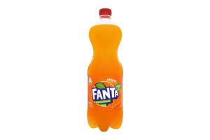 Напиток безалкогольный сильногазированный с апельсиновым соком Fanta п/бут 1л